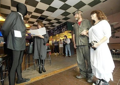 Coffee Party holds mock wedding between corporate-person groom and human bride | Coffee Party News | Scoop.it