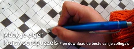 Kruiswoordpuzzel generator | Mediabewust | Scoop.it