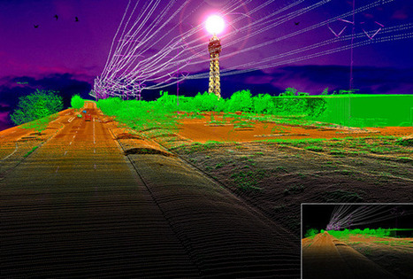 Merrick's Sergio Aguayo Receives the First LiDAR Art Award GIS | GPS World | Remote Sensing News | Scoop.it