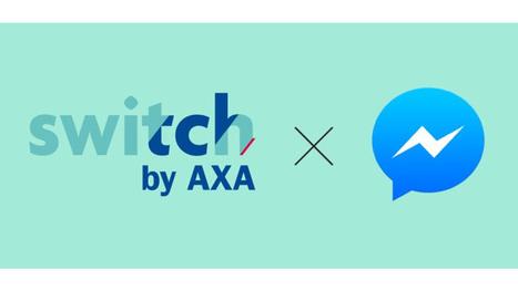 Axa s'allie à Facebook Messenger pour faciliter le dialogue avec les jeunes assurés | RelationClients | Scoop.it