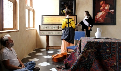 Vermeer's paintings might be 350 year-old color photographs | pixels and pictures | Scoop.it