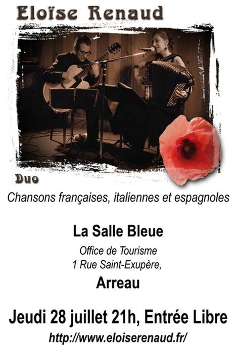 Concert d'Éloïse Renaud à Arreau le 28 juillet | Vallée d'Aure - Pyrénées | Scoop.it