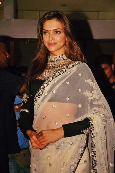 Deepika Padukone in Saree - Latest Photos - Fashion And Beauty Blogger {FABB} | Blogs By Yogita Aggarwal | Scoop.it