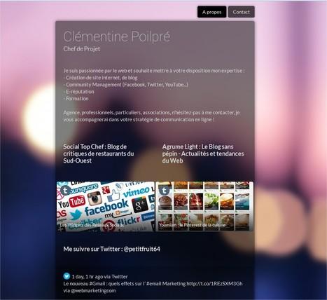 PixelHub. Une carte de visite numérique sur le Web | Management et promotion | Scoop.it