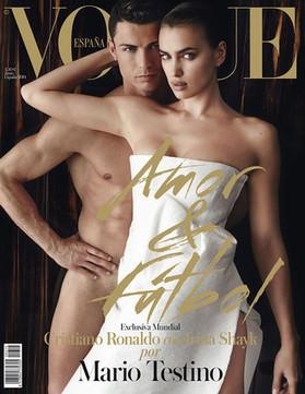 Cristiano Ronaldo se desnuda junto a Irina Shayk para 'Vogue' - El Periódico | REVISTAS | Scoop.it