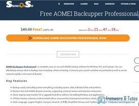 Offre promotionnelle : AOMEI Backupper Pro 3.2 gratuit ! | Freewares | Scoop.it