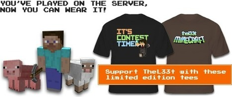 The Best MineCraft Server! -Thel33t | Weirdest minecraft screenshots ever | Scoop.it