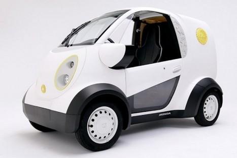 Honda créé une voiture à l'imprimante 3D | Ressources Technologie Collège Miramaris | Scoop.it