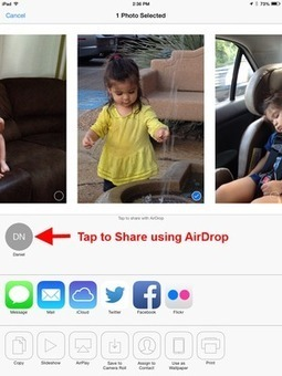 How to Use AirDrop to Send and Receive Files on iPad | iPadinTouch | specific learning difficulties | Scoop.it
