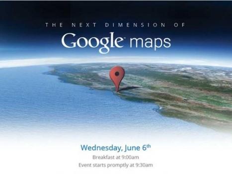« Une nouvelle dimension » pour Google Maps le 6 juin   toute l'info sur Google   Scoop.it
