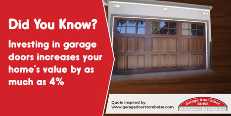 A Quotography on the Importance of Investing in Garage Doors | Infographic Collection | Scoop.it