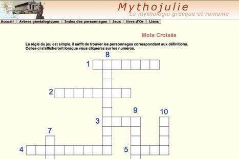 Mythojulie : Arbres généalogiques de la mythologie grecque et romaine | Salvete discipuli | Scoop.it
