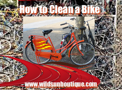 Your bike is an investment: How to Clean a Bike | Travel | Scoop.it