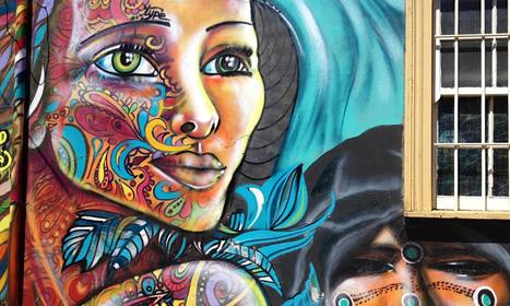 Chile cool: art, music and graffiti in laid-back Valparaíso - The Guardian | PIXNOV | Scoop.it