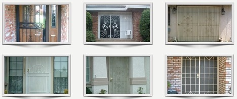 Quality and Durable Security Doors | Ornamental Iron | Wrought iron fencing | Driveway gate | Scoop.it