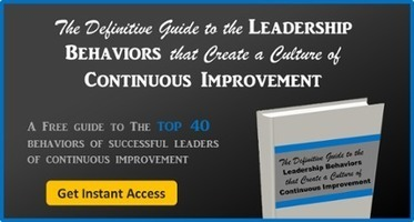 5 Things Leaders Should Do When Staff Engage in Continuous Improvement | Thriving in the Project Age | Scoop.it