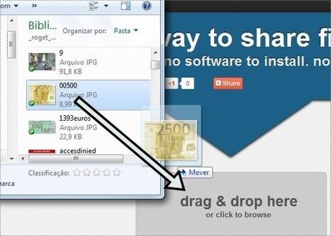 Pastelink. Le partage de fichiers ultra simple. | L'e-école | Scoop.it