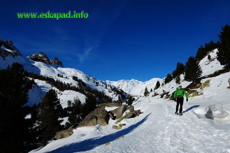 La vallée de la Clarée en raquettes à neige (05) | Topo et fiche de randonnée à pied by eskapad | Scoop.it