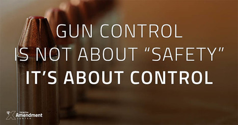 The Gun Control Battle is a Choice Between a Police State and a Free Society | Liberty Revolution | Scoop.it