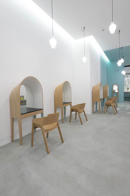 Le Coiffeur / Margaux Keller Design Studio + Bertrand Guillon ... | retail and design | Scoop.it
