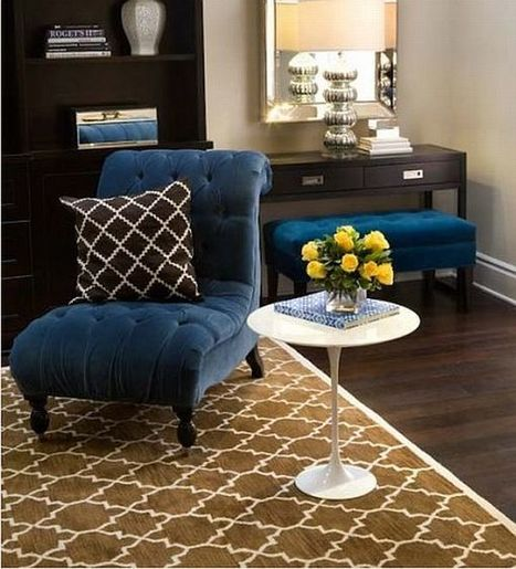 What Colors Work Well With Brown In The Bedroom | Designing Interiors | Scoop.it
