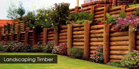 Landscaping Timbers Brisbane | Fence Posts, Fence Rails, Pine Logs, Palings | Super Timber & Fencing - Timber & Fencing Suppliers | Scoop.it