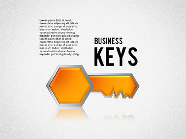Keyhole and Keys Diagram   Diagrams and Charts for Presentations   Scoop.it