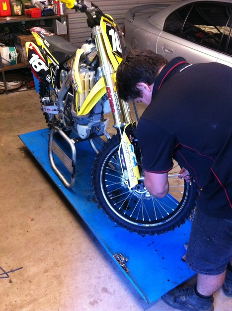 Lee (Brother) - Motorbike Mechanic | OHS Issues with Work & Leisure | Scoop.it