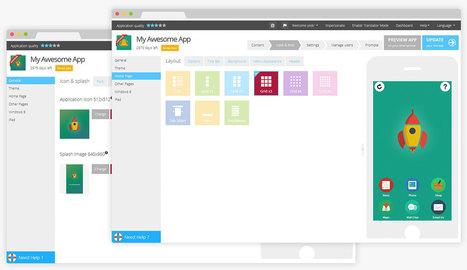 AppsBuilder – Crea apps y sitios móviles – Haz tu mismo tus apps móviles para iPhone, iPad, Android, Chrome Web Store y HTML 5 WebApp | Mobile Learning | Scoop.it
