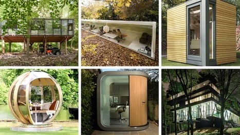 Commune With Nature In These 6 Productivity-Boosting Offices | Sustainism | Scoop.it
