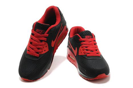 Comprar Barato Nike Air Max 90 EM Hombres Negro Rojo 131208-108 en Venta | fashion | Scoop.it