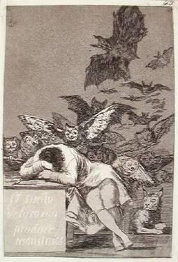 COLORADO SPRINGS ROAD TRIP: 'Francisco Goya: Los Caprichos' - Colorado Springs Gazette | the black paintings | Scoop.it