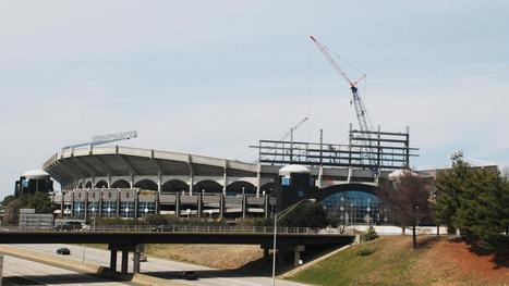 A look at renovations under way at Bank of America Stadium (PHOTOS) - Charlotte Business Journal | Sports Facility Management | Scoop.it