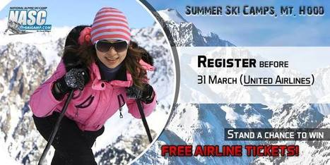 """NASC Announces a New offer for all """"Ski Lovers"""" for their 2016 Mt. Hood Summer Ski Training Camps 