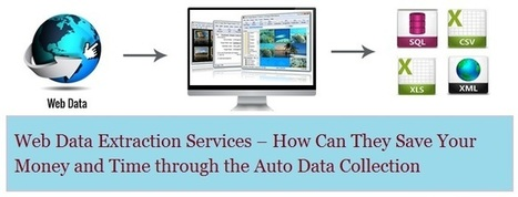 Web Data Extraction Services – How Can They Save Your Money and Time through the Auto Data Collection   Web Data Scraping Services   Scoop.it