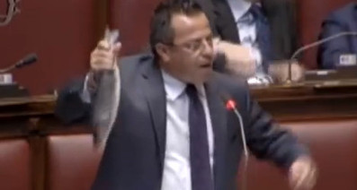 Italian Politician Thrown Out of Parliament for Waving Fish Around | mad world | Scoop.it