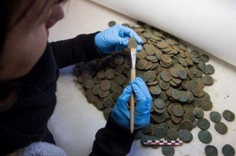20 minutes - Près de 5000 sesterces découverts au Tessin - Suisse | Patrimoine culturel - Revue du web | Scoop.it