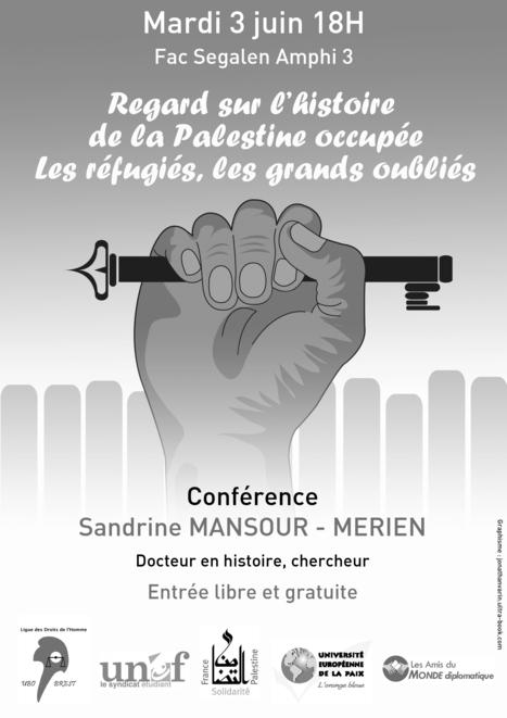 Regard sur l'histoire de la Palestine occupée | Amis du Monde Diplomatique Brest | Scoop.it