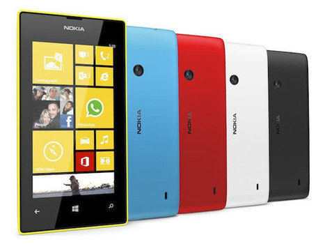 Nokia Lumia 520 & 720 : les spécifications techniques officielles | SMARTPHONES, TABLETTES & APPLICATIONS | Scoop.it