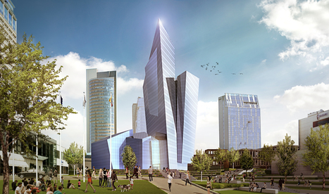Studio Libeskind's Faceted Tower Wins Competition for Mixed-Use Complex in Lithuania | retail and design | Scoop.it