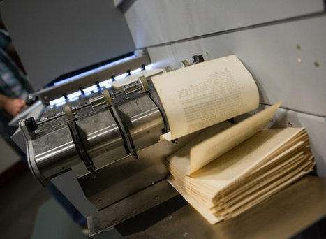 Harvard librarians are slicing off the spines of books to digitize them   eBooks News and Updates   Scoop.it