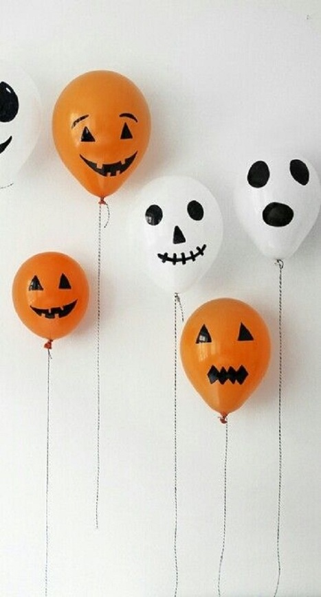 16 Amazing and Colorful DIY Halloween Balloon Creations | Incredible Snaps | incredible snaps | Scoop.it