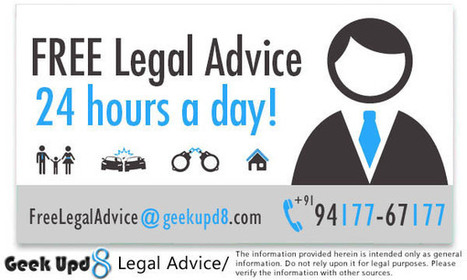 Free Legal Advice, Consultation, Aid, Help, Service, Assistance, Support from G8 Lawyers, Advocates, Attorneys | Law Reporter | Scoop.it