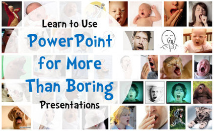 Use PowerPoint for More Than Boring Presentations | e-Learning for information literacy | Scoop.it