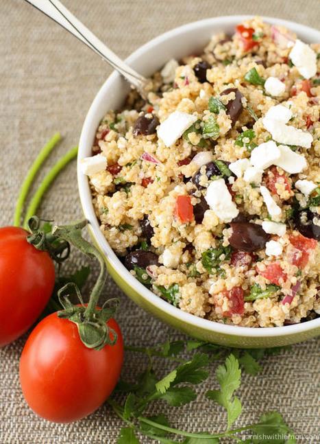 Mediterranean Quinoa Salad   Gluten Sensitive   Scoop.it