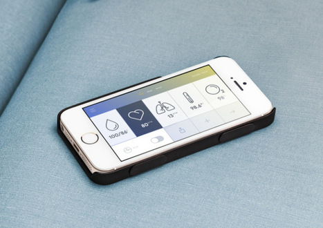 Wello One-Ups The Galaxy S5 With A Slim, Sensor-Laden Health Tracking iPhone Case | TechCrunch | Mobile Health: How Mobile Phones Support Health Care | Scoop.it