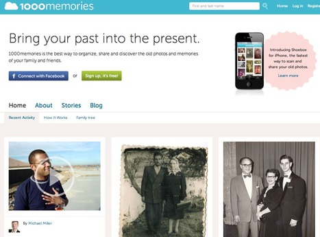 """1000memories Launches """"Shoebox"""" App For iPhone, Puts A Scanner In Your Pocket   Genealogy Technology   Scoop.it"""