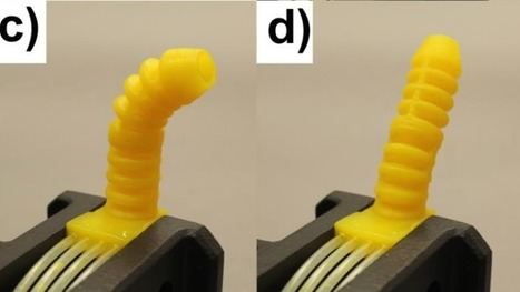 3D-Printed Robotic Tentacle Reaches New Level of Squirminess | Biomimicry | Scoop.it