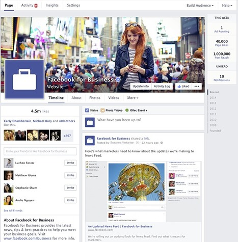 Facebook for Business | Another New layout - concerning for those who have custom tabs | Artdictive Habits : Sustainable Lifestyle | Scoop.it