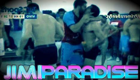 I calciatori Víctor Soto e Alejandro Quintana si baciano in bocca in diretta nello spogliatoio! #VIDEO | JIMIPARADISE! | Scoop.it